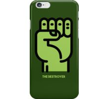 The Destroyer  iPhone Case/Skin