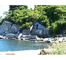 Old Fort on the Waterfront Photographic Print
