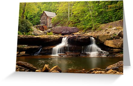 Glade Creek Grist Mill (Cooper's Mill) by Gregory Ballos | gregoryballosphoto.com