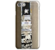 Petites Annonces Urbaines -  Urban Classified Ads iPhone Case/Skin