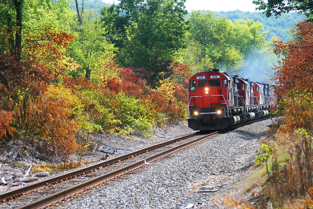 Fall along the Railroad by Jcook