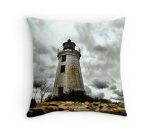 Weathered and Proud Throw Pillow