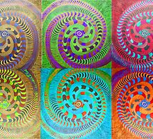Variations on a colorful theme of Spirals by James Lewis Hamilton