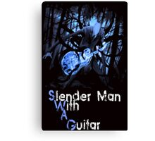 Slender Man with Guitar - SWAG version Canvas Print
