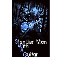 Slender Man with Guitar - SWAG version Photographic Print
