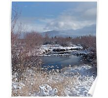Dawn Mist, Summit County Colorado Poster