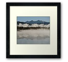 Continental Divide, Summit County, Colorado Framed Print
