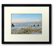 Solstice Sunrise in Summit County, Colorado Framed Print