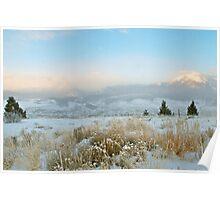 Solstice Sunrise in Summit County, Colorado Poster