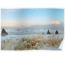 Solstice Sunrise in Summit County, Colorado Poster