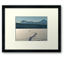 Morning Tracks Framed Print