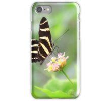 """ Zebra Longwing "" iPhone Case/Skin"