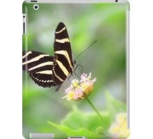""" Zebra Longwing "" iPad Case/Skin"