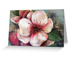 Gentleness - Peach Greeting Card