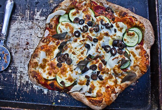 Vegetarian Brick Oven Pizza by jwilsonholmes