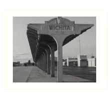 Weatherd & Worn In Wichita Art Print