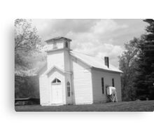 old timey church Canvas Print