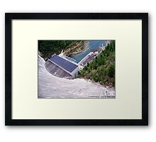 (Baby It's a) Long Way Down Framed Print