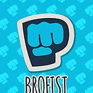 PewDiePie - Brofist! by 4ogo Design