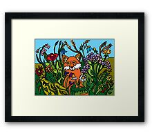 IN THE MEADOW Framed Print