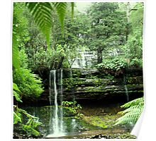 Russel Falls - Mt Field National Park Poster