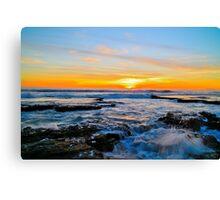 Australia Sunset Canvas Print