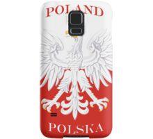 Retro Polish Polska Flag Samsung Galaxy Case/Skin