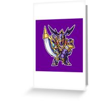 Buster Blader Icon - Yugioh! Greeting Card
