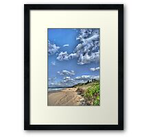Old Bar Beach Framed Print