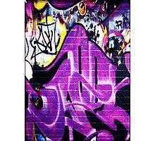 Grafitti Wall 1 Photographic Print