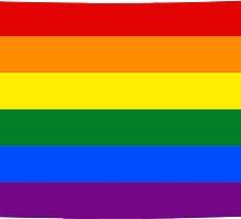 LGBT Flag Map of Colorado  by abbeyz71