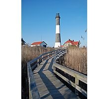 FINS Lighthouse Photographic Print