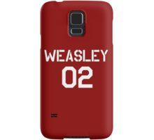 Weasley Quidditch team Samsung Galaxy Case/Skin