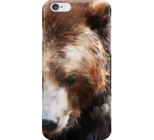 Bear // Gold iPhone Case/Skin
