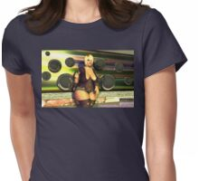 """""""Mirror, Mirror, on These 'balls'..."""" Womens Fitted T-Shirt"""