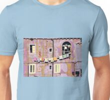The Essence of Croatia - Pastel Houses of Dubrovnik Unisex T-Shirt