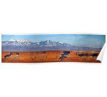 Canyonlands - Great Overlook Panorama Poster