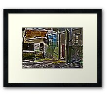 Dereliction of Duty Framed Print