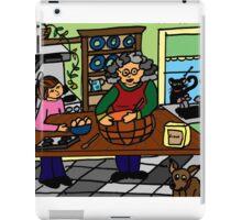 BAKING WITH GRANDMA iPad Case/Skin