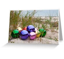 Baubles at the Beach Greeting Card
