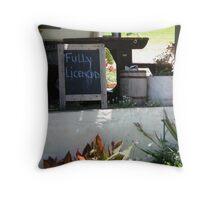 Sundowners, Napier Throw Pillow