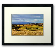 Autumn Vineyards Framed Print
