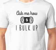 bulk up bro funny yarn knit crochet Unisex T-Shirt