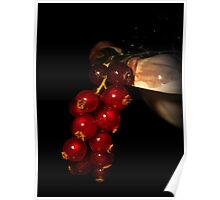 Fruity red Poster