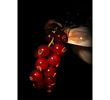 Fruity red Photographic Print