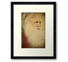 Guess Who's Coming To Town? Framed Print
