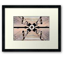 Bulls Eye Framed Print