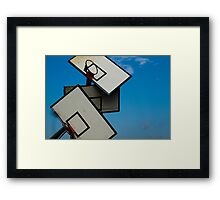 baskets Framed Print