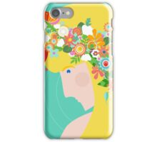 Flower Girl iPhone Case/Skin