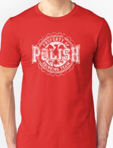 Vintage Polish Drinking Team Bottle Cap T-Shirt